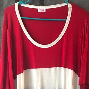 Red, White and Blue Soft Tee